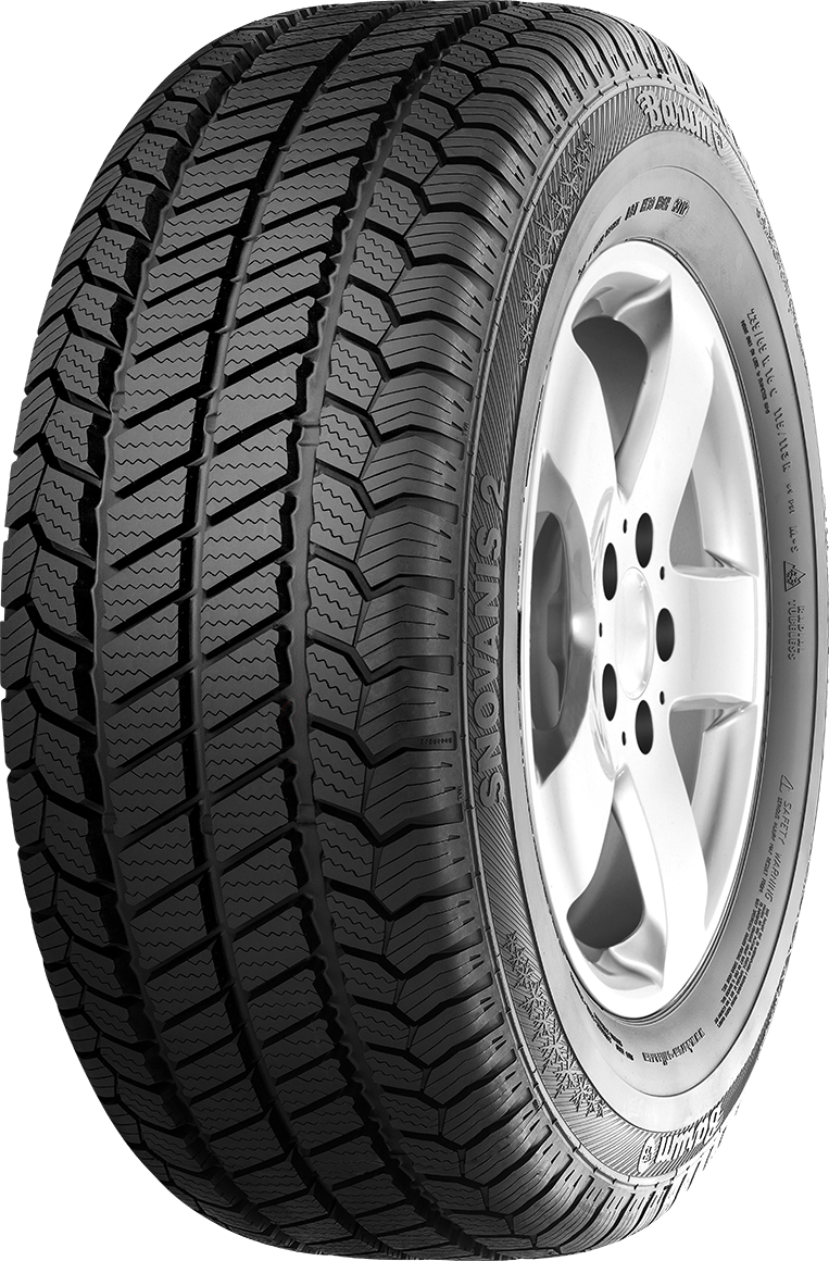 W Mega SnoVanis 2 - The Winter Tyre for Transporters & Vans for Snow CF44