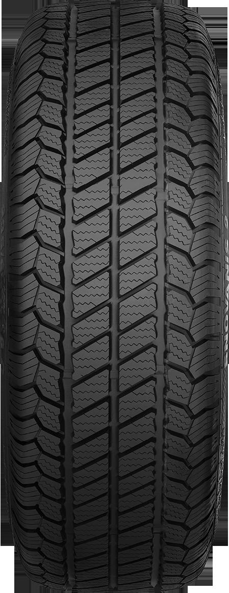 Najnowsze SnoVanis 2 - The Winter Tyre for Transporters & Vans for Snow XW14