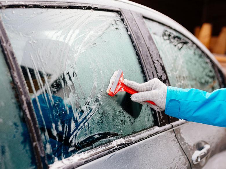 Ochrana proti ledu na čelním skle